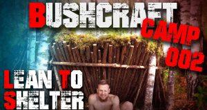 002-Lean-to-Shelter-Bushcraft-Camp-Survival-Lager-Deutschland-germandeutsch
