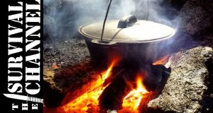 Bush-cooking-over-the-fire-Werling-Stew-The-Survival-Channel-Outdoor-Gear-Reviews