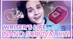 Camp-NaNoWriMo-Survival-Kit-Writers-Life-Vlogs