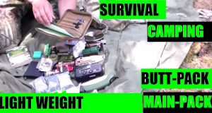 Camping-Survival-mini-prepper-bugout-bag-and-tent-shelter-main-pack-PART-ONE-by-JSD-Arms