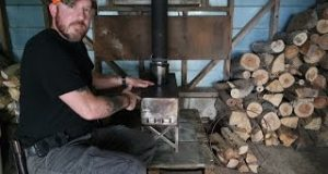 DIY Home Heating Off Grid Wood Stove | Your Survival Guide
