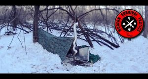 Heated-Tarp-Shelter-in-3F-HIDDEN-OVERNIGHT-2