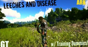 Leeches-and-Lesser-Antidote-Training-Dummy-Testing-ARKSurvival-Evolved