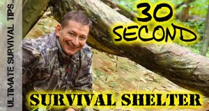 NEW-30-Second-Survival-Shelter-HACK-OPSEC-Hunting-Camping-Bug-Out-Bag-EDC-BEST-Poncho