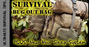 NEW-Survival-Bug-Out-Bag-BASIC-22-lb-10-kg-Experimental-3-Season-Mini-Sleep-System-Best