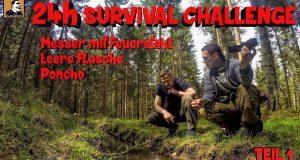 Survival-Mattin-macht-24h-SURVIVAL-Challenge-BERLEBENSTRAINING-mit-3-Sachen-TEIL-1-u..n.k.