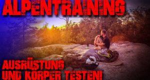 ALPEN-TRAINING-Ausrstung-und-Krper-testen-Malerweg-Outdoor-Trekking-Survival-Bushcraft
