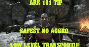 ARK-101-TIP-SAFEST-NO-AGGRO-LOW-LEVEL-TRANSPORT-ARK-Survival-Evolved